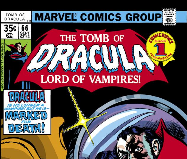 Tomb of Dracula (1972) #66 Cover