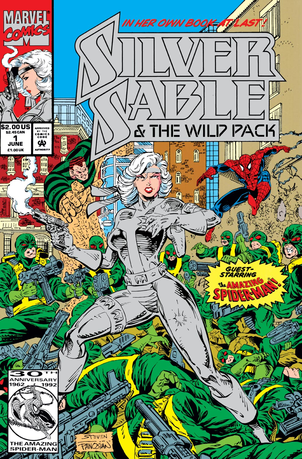 Silver Sable & the Wild Pack (1992) #1