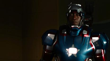 Don Cheadle stars as Iron Patriot in Marvel's Iron Man 3