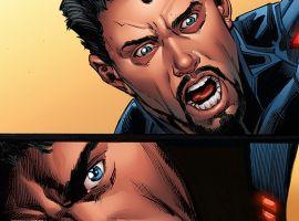 Return to Earth in Iron Man