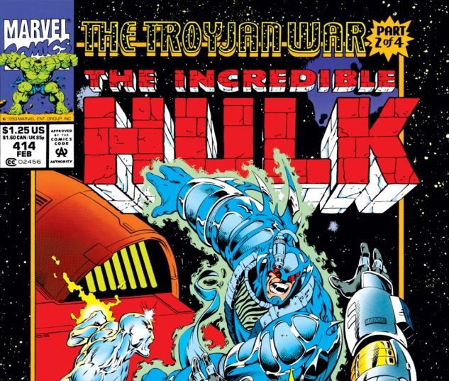 Incredible Hulk (1962) #414 Cover