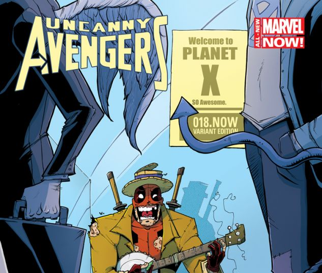 UNCANNY AVENGERS 18.NOW GUILLORY DEADPOOL VARIANT (ANMN, WITH DIGITAL CODE)