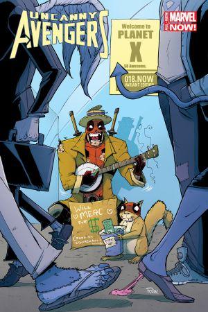 Uncanny Avengers (2012) #18 (Guillory Deadpool Variant)