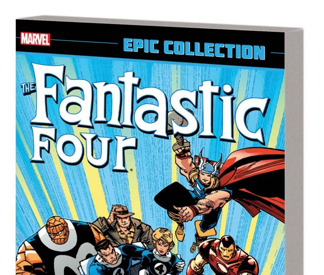 FANTASTIC FOUR EPIC COLLECTION: INTO THE TIME STREAM TPB