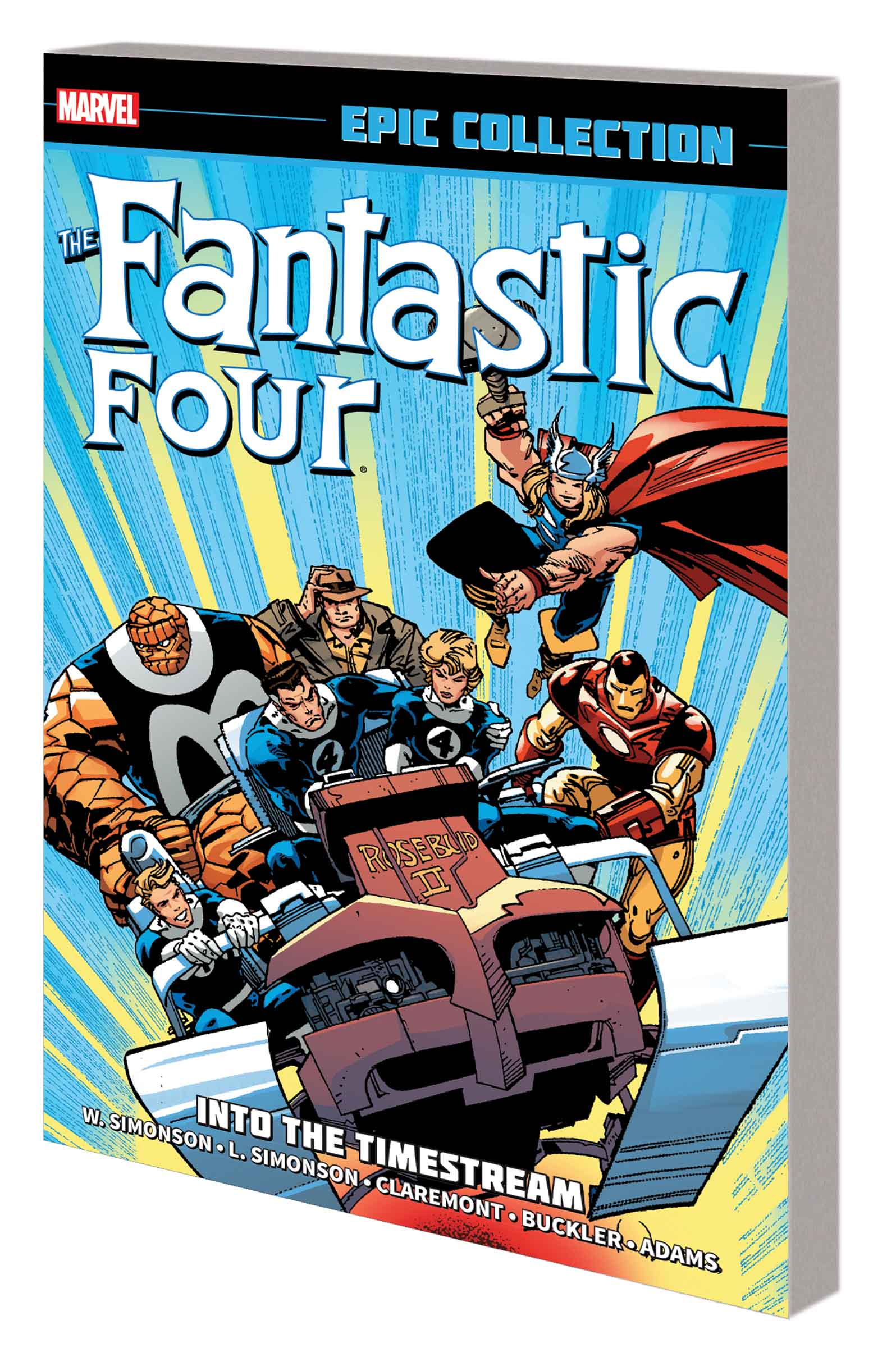 Fantastic Four Epic Collection: Into the Timestream (Trade Paperback)