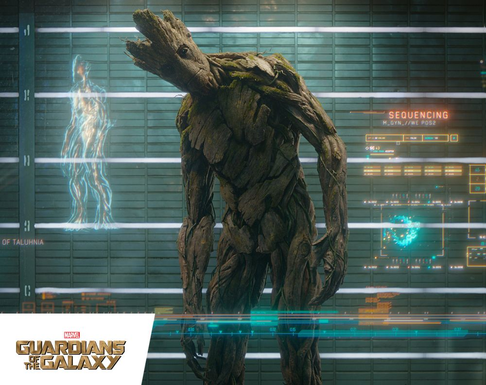 Marvel's Guardians of the Galaxy - Dancing Groot home