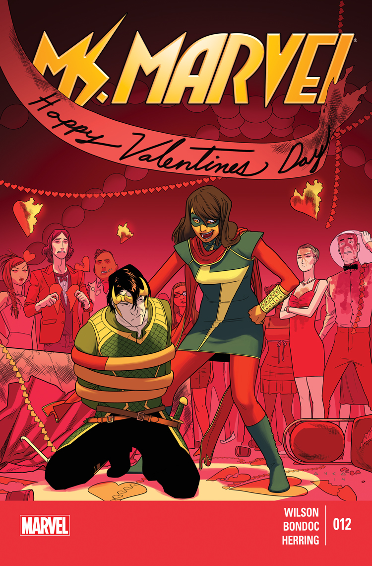 Ms. Marvel (2014) #12
