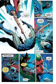 Avengers: Rage of Ultron OGN lettered page