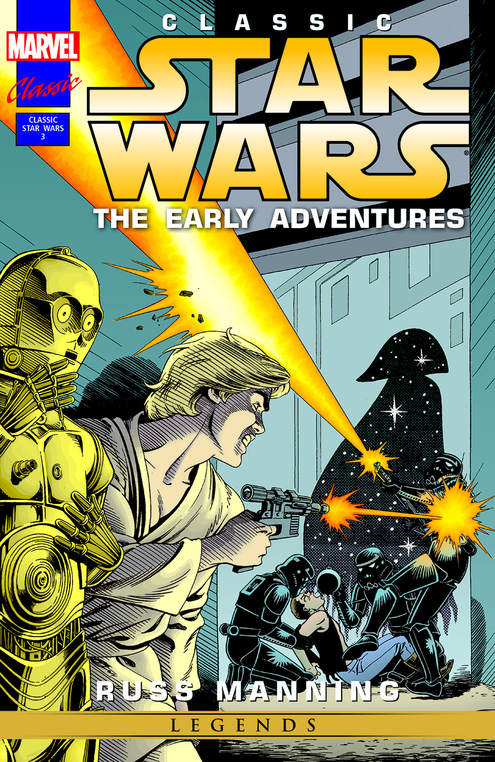 Classic Star Wars: The Early Adventures (1994) #3