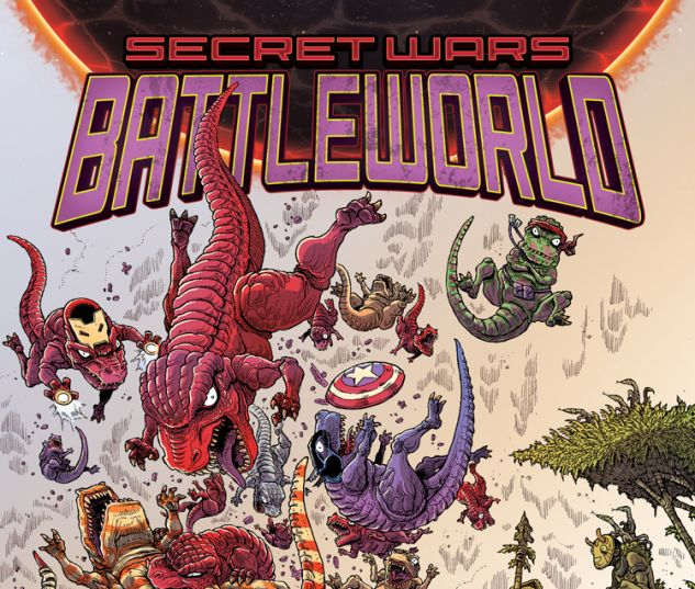 SECRET WARS: BATTLEWORLD 3 STOKOE VARIANT (SW, WITH DIGITAL CODE)