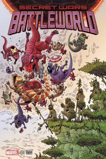 Secret Wars: Battleworld (2015) #3 (Stokoe Variant)