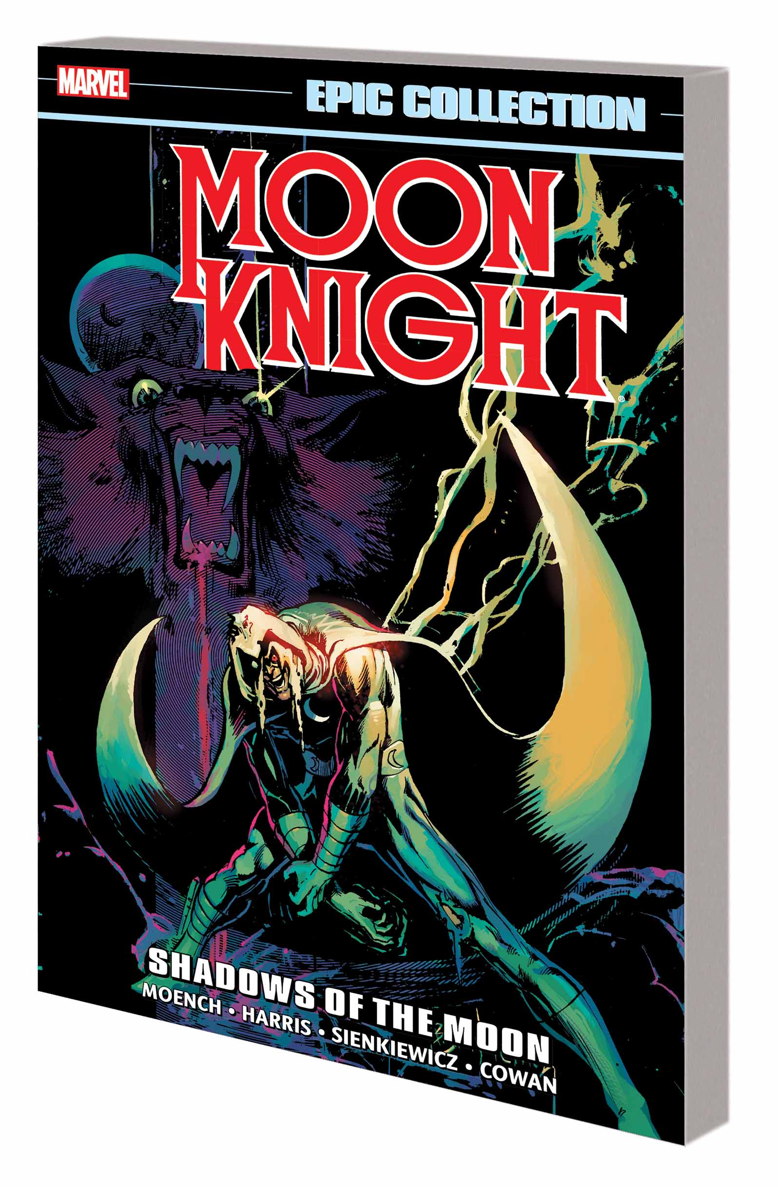 Moon Knight Epic Collection: Shadows of the Moon (Trade Paperback)