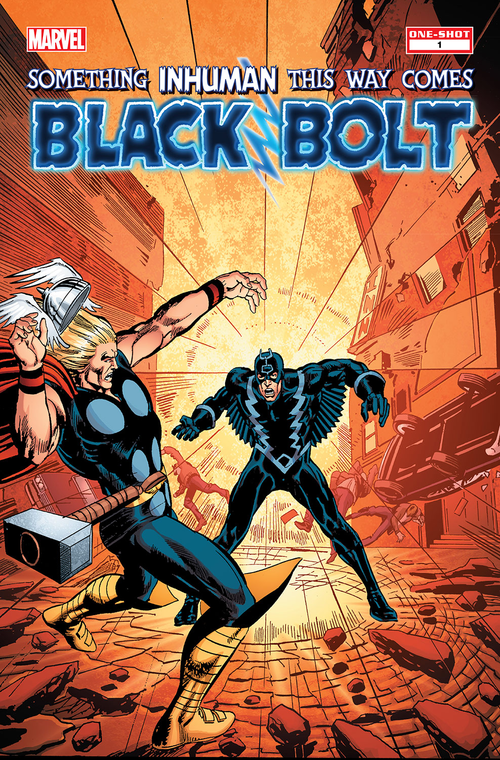 Black Bolt: Something Inhuman This Way Comes (2013) #1