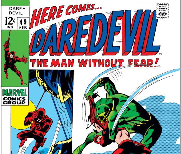 DAREDEVIL (1964) #49 Cover