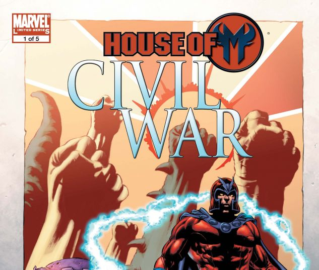 Civil War: House of M (2008) #1