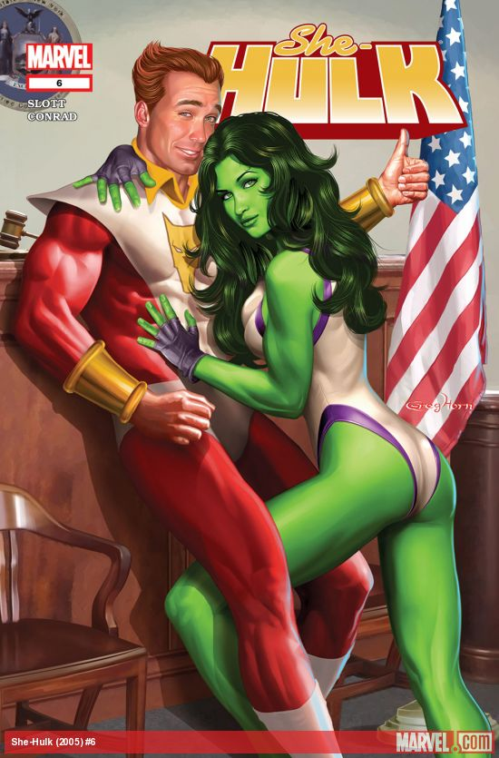 She-Hulk (2005) #6