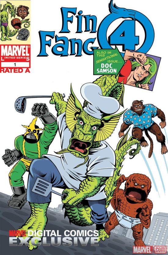 Fin Fang Four Digital Comic (2008) #1