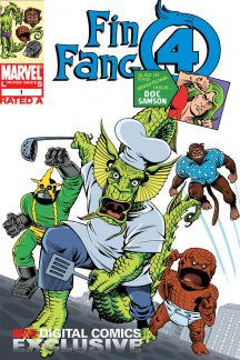 Fin Fang Four Digital Comic (2008) #1