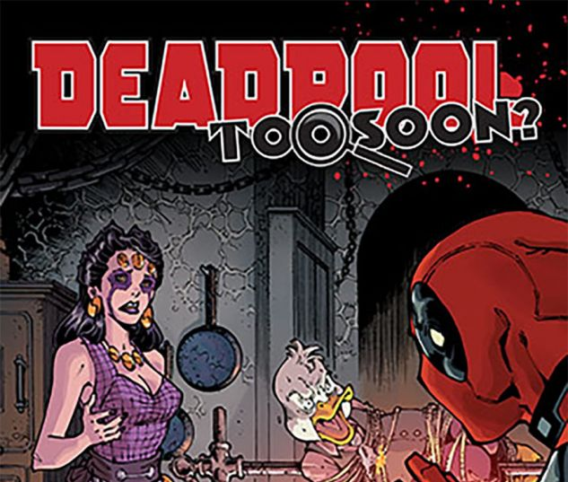 cover from Deadpool: Too Soon Infinite Comic (2016) #5