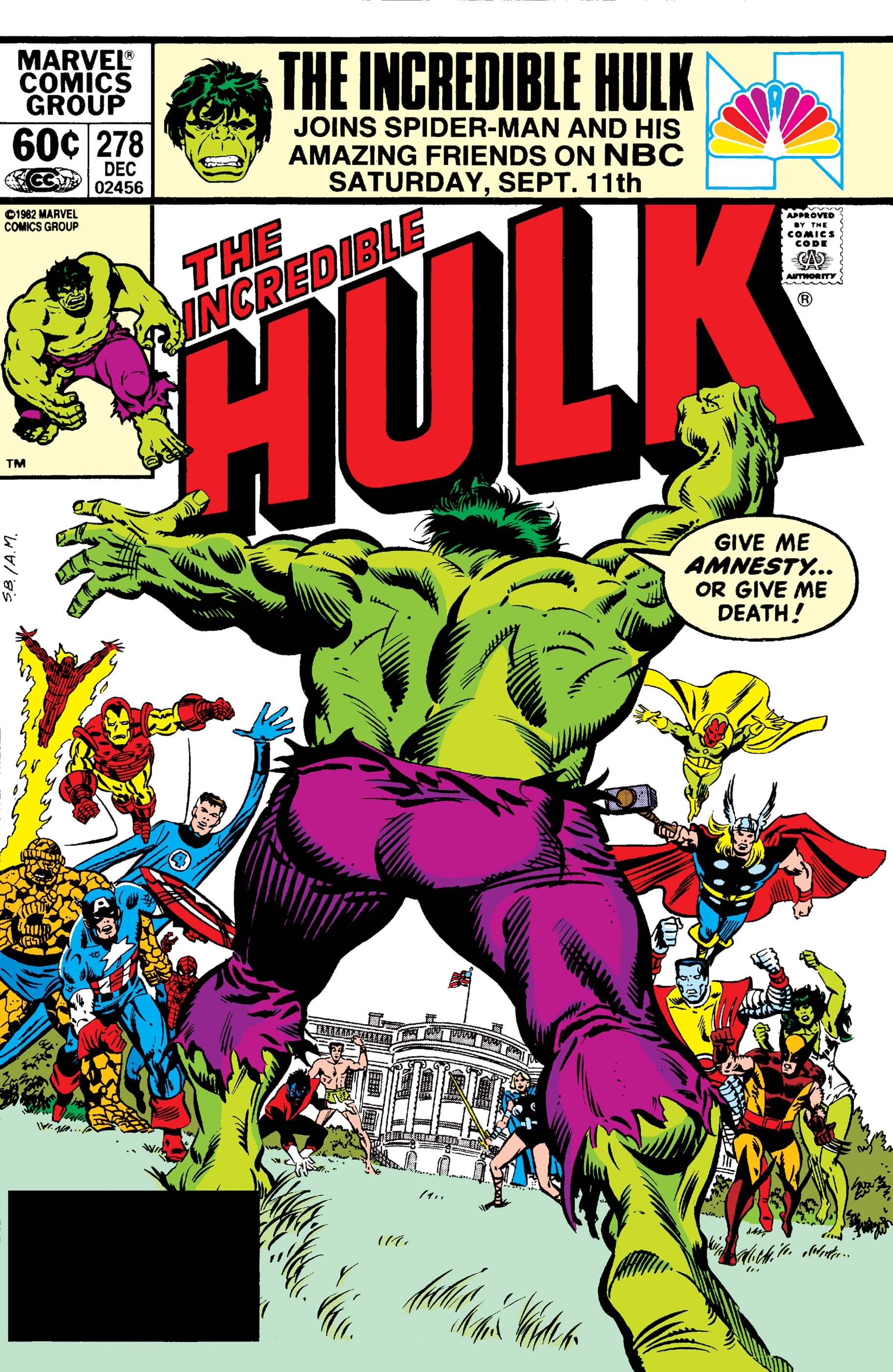 Incredible Hulk (1962) #278