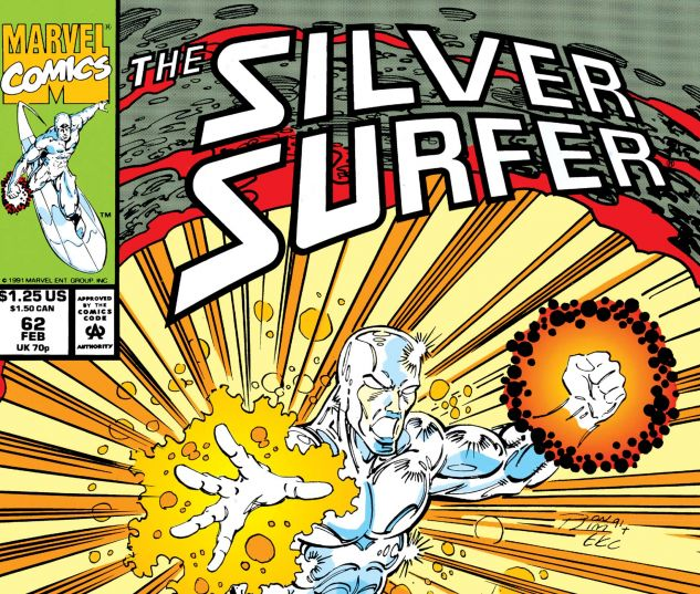 SILVER SURFER (1987) #62