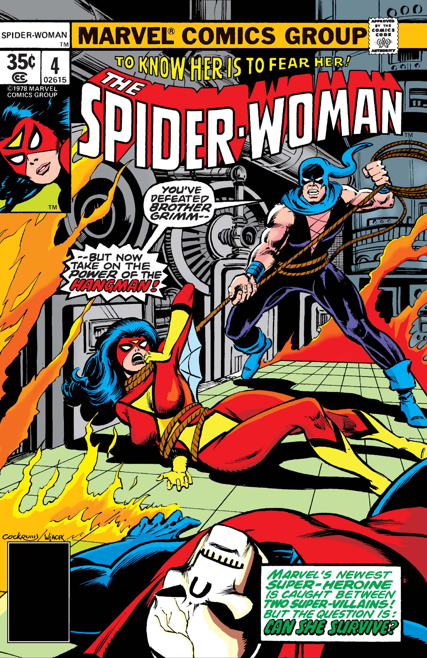 Spider-Woman (1978) #4