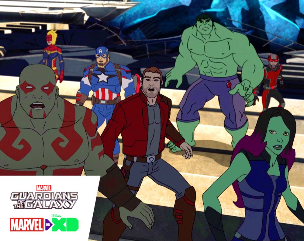 The Guardians & the Avengers team up for animated series return