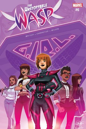 The Unstoppable Wasp (2017) #6