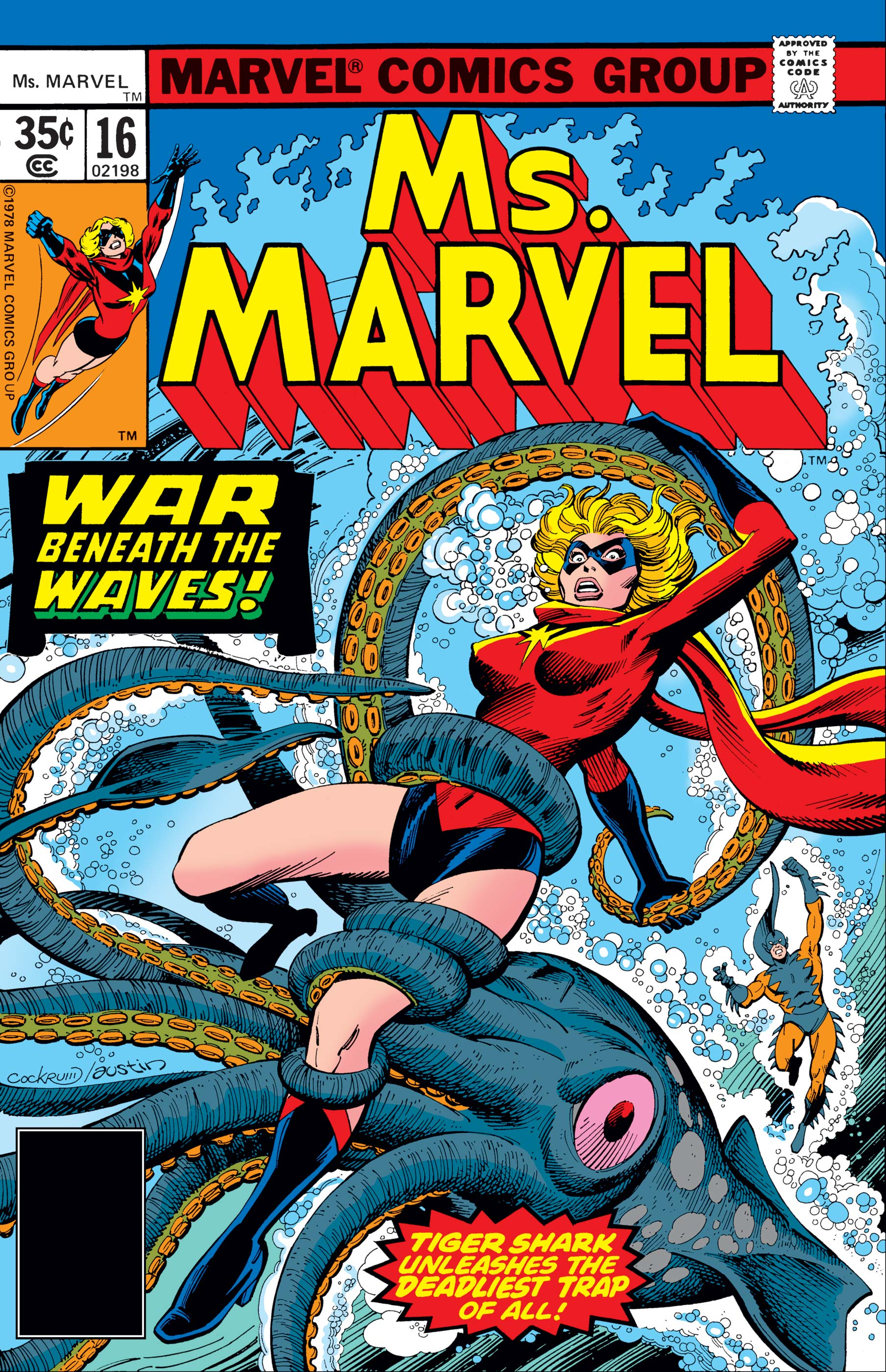 Ms. Marvel (1977) #16