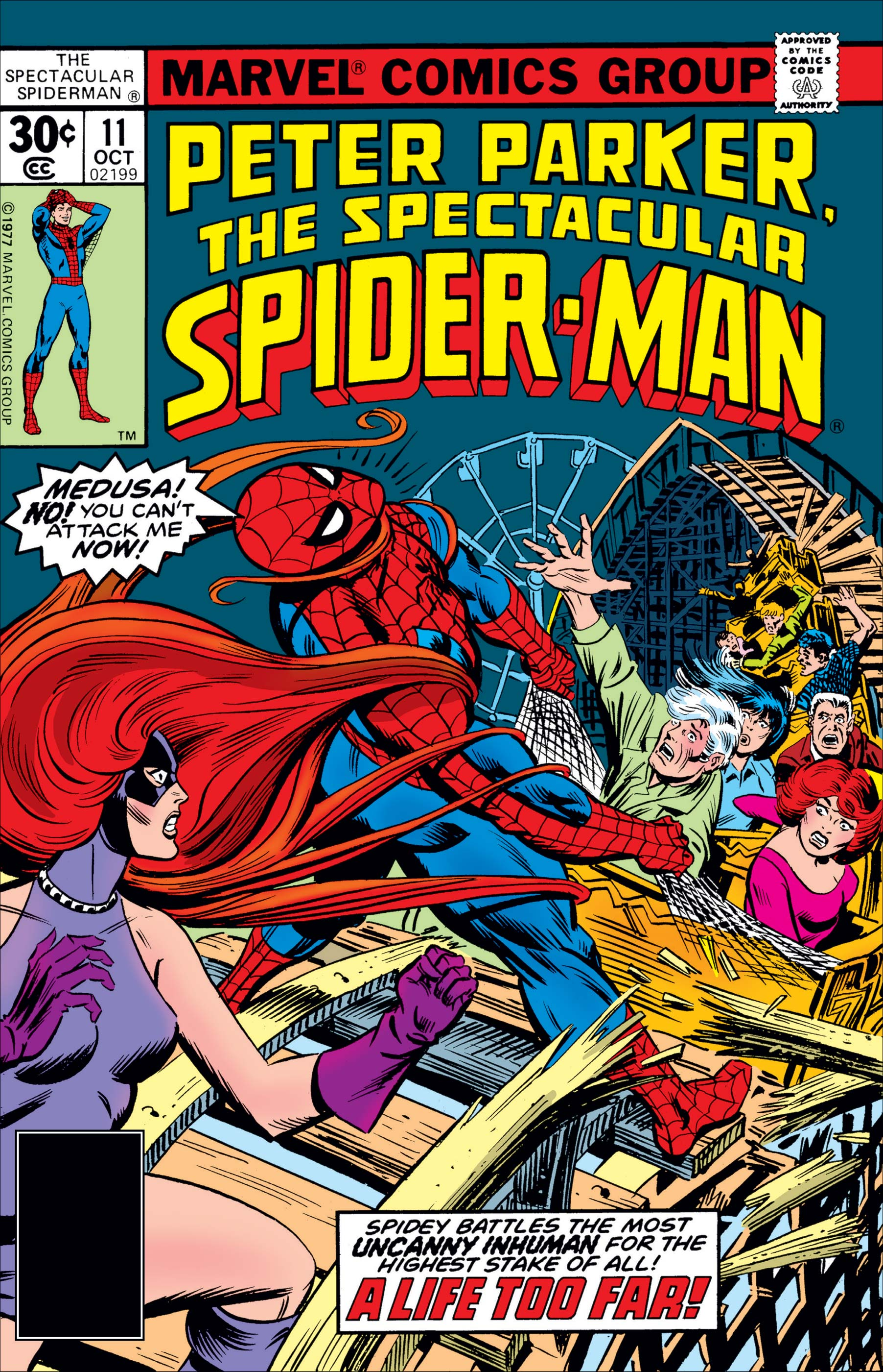 Peter Parker, the Spectacular Spider-Man (1976) #11