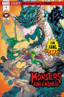 Monsters Unleashed #8