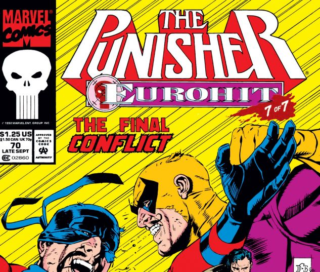 Cover for PUNISHER 70