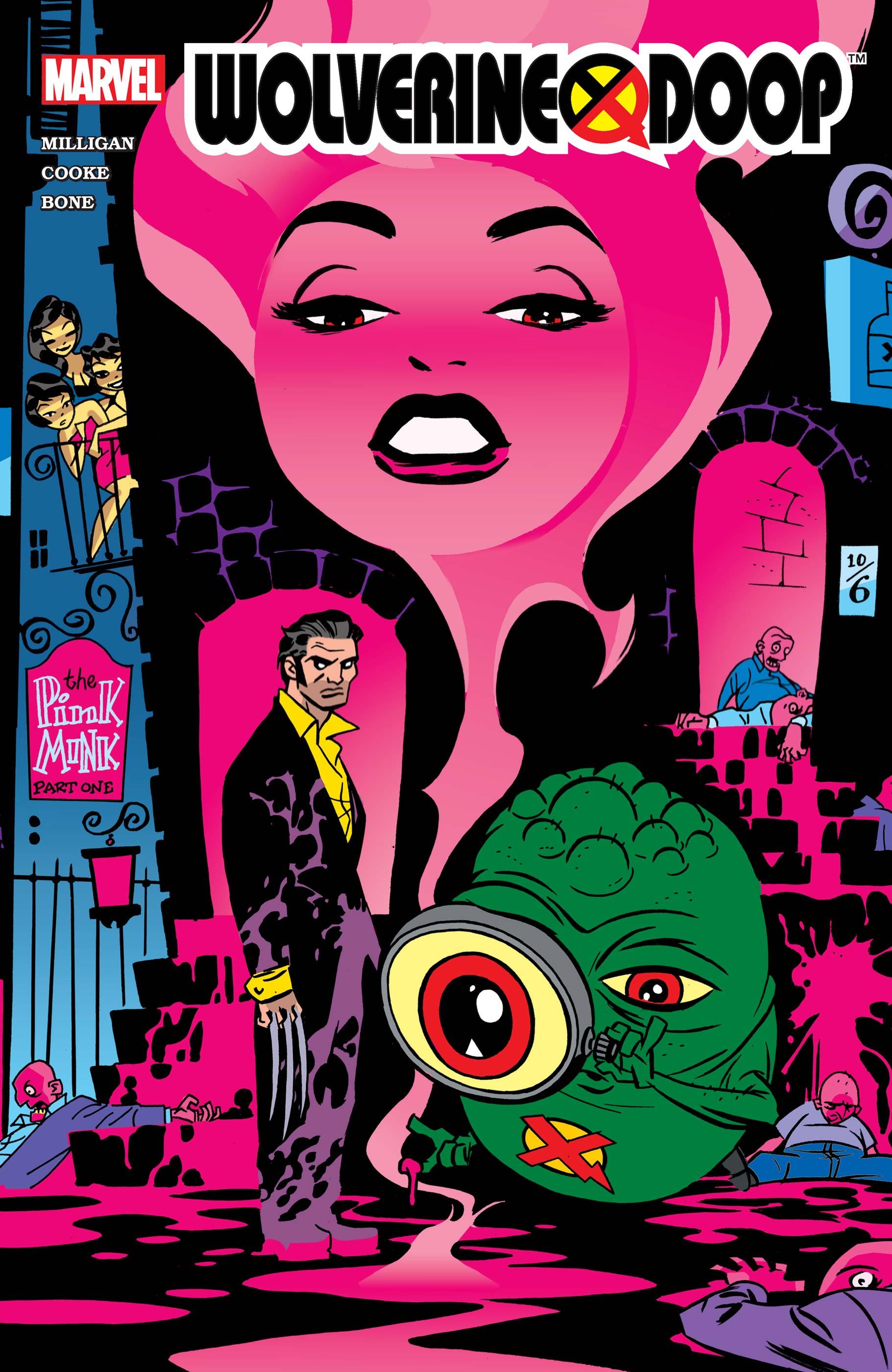 Wolverine/Doop (2003) #1