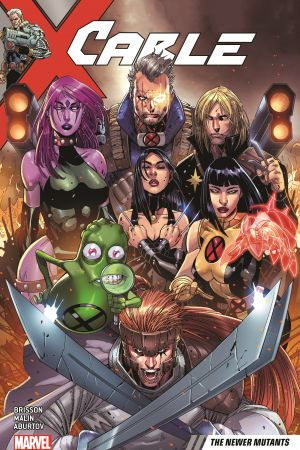 Cable Vol. 2: The Newer Mutants (Trade Paperback)