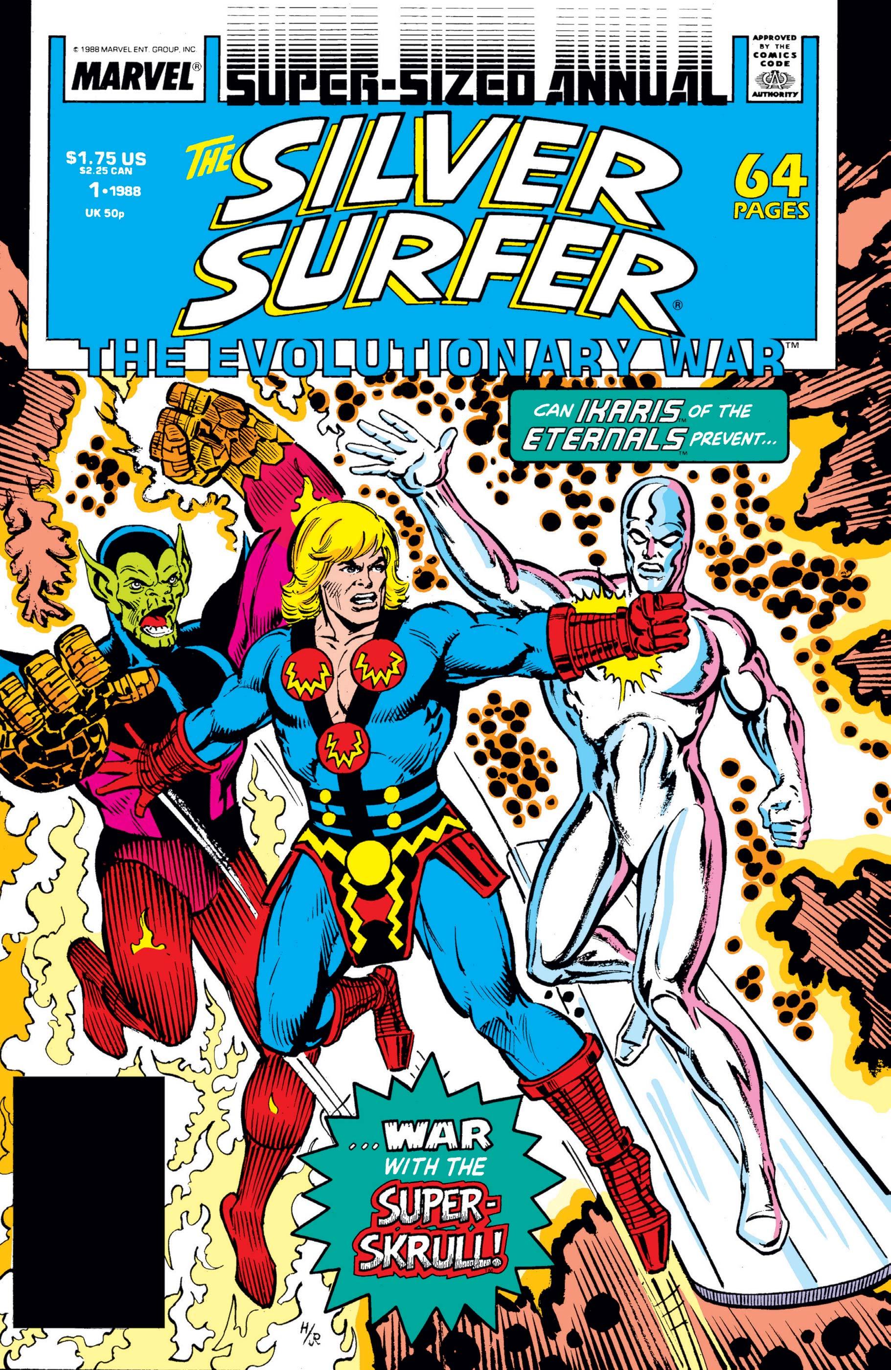 Silver Surfer Annual (1988) #1