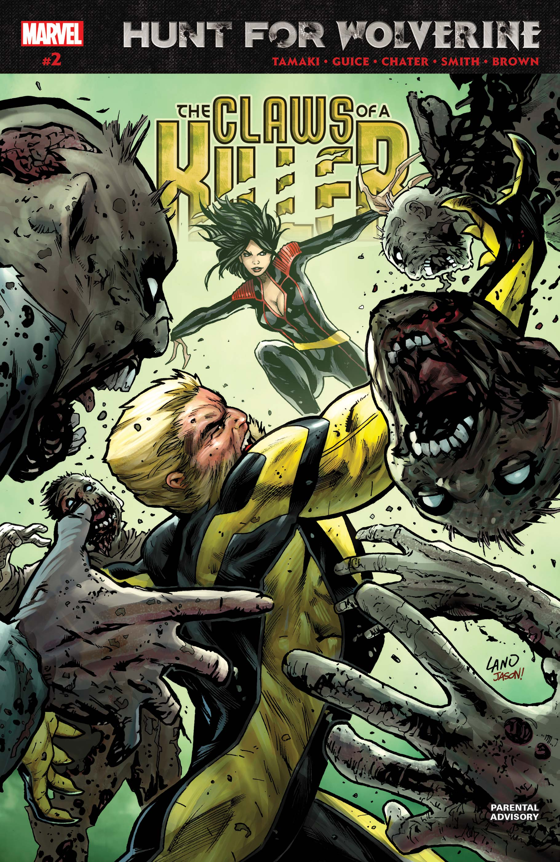 Hunt for Wolverine: Claws of a Killer (2018) #2