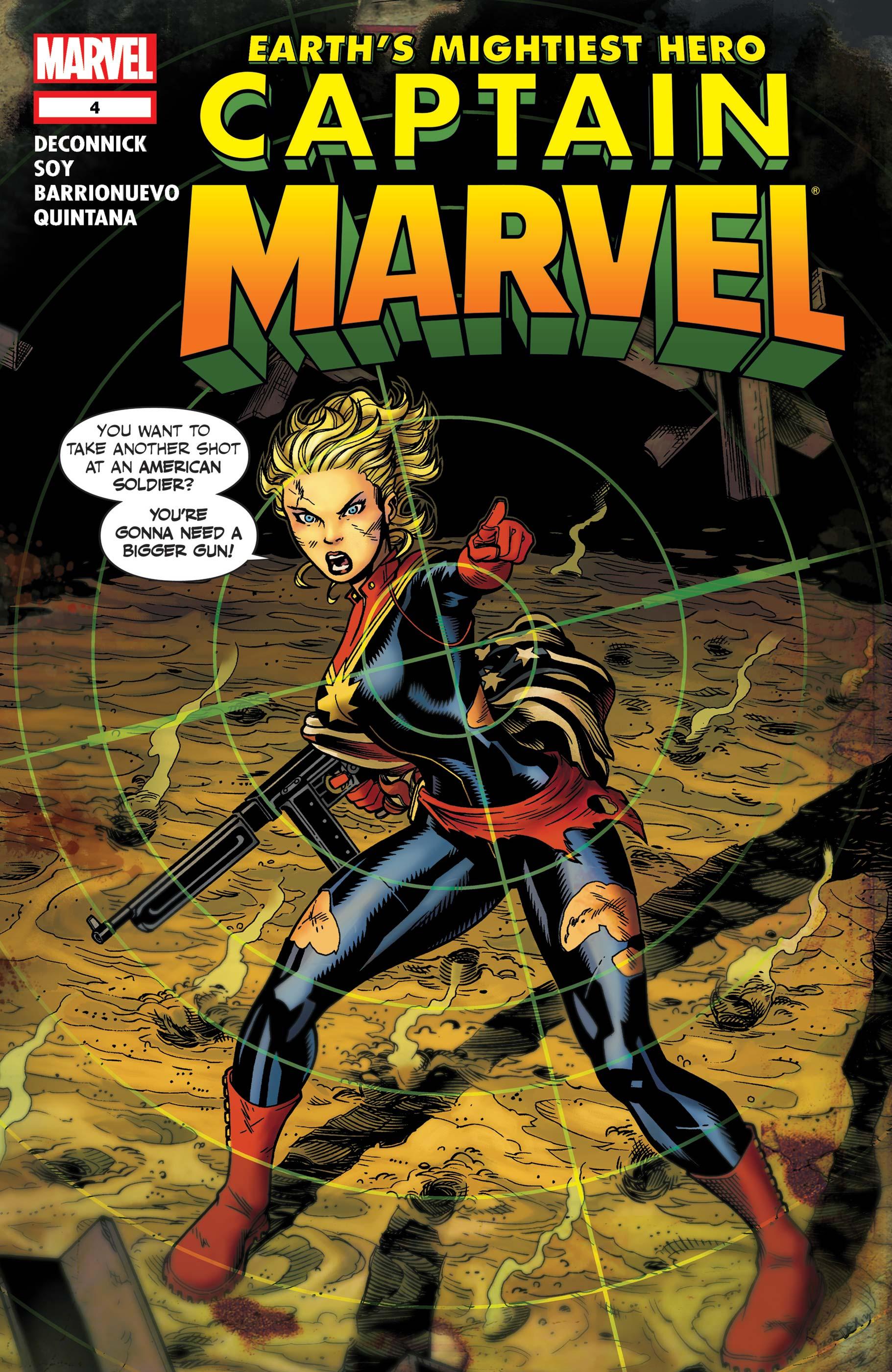 Captain Marvel (2012) #4