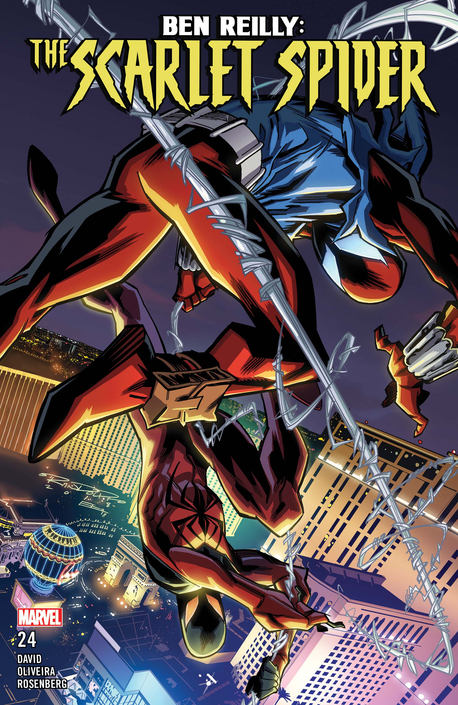 Ben Reilly: Scarlet Spider (2017) #24