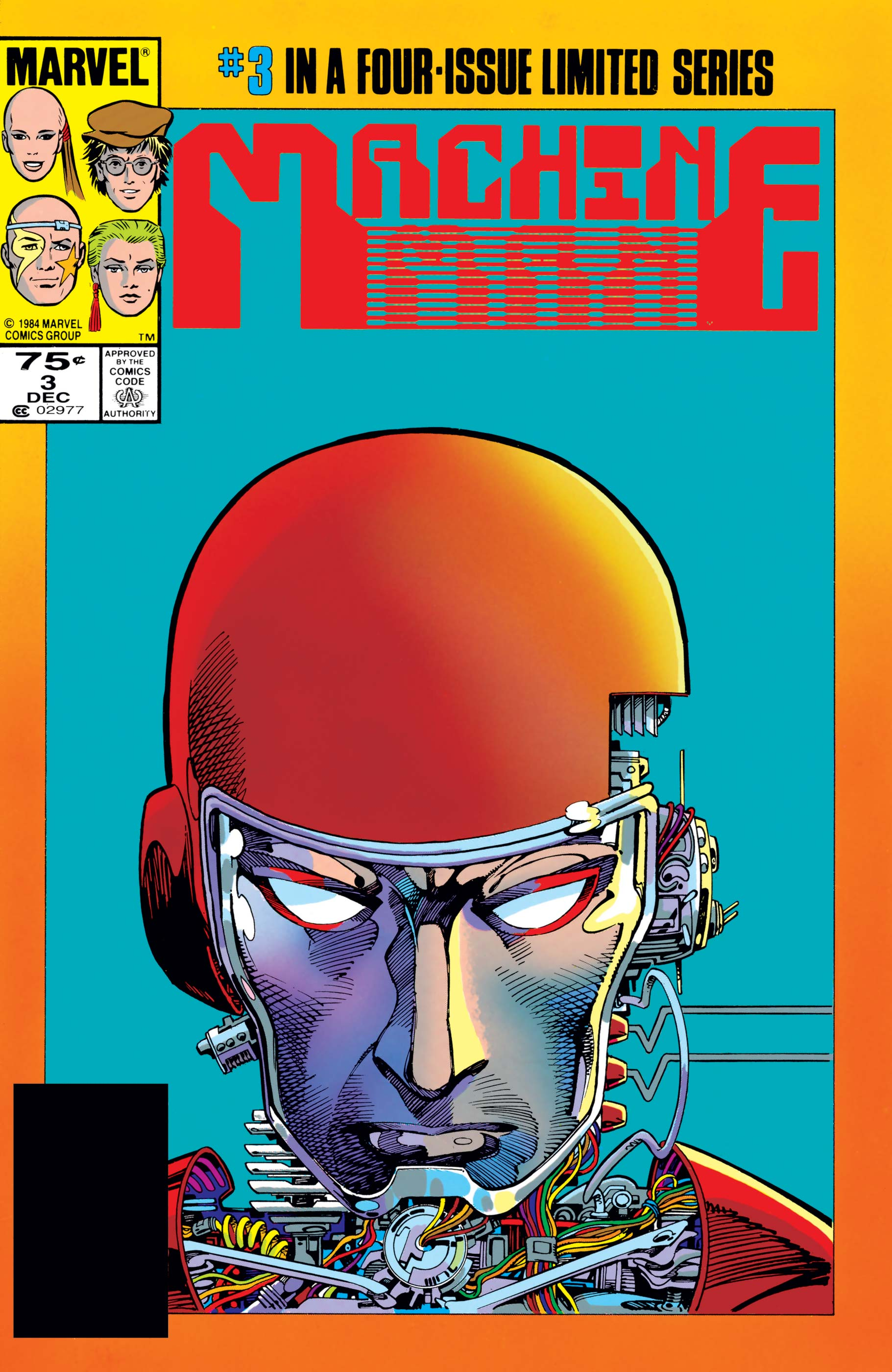 Machine Man (1984) #3