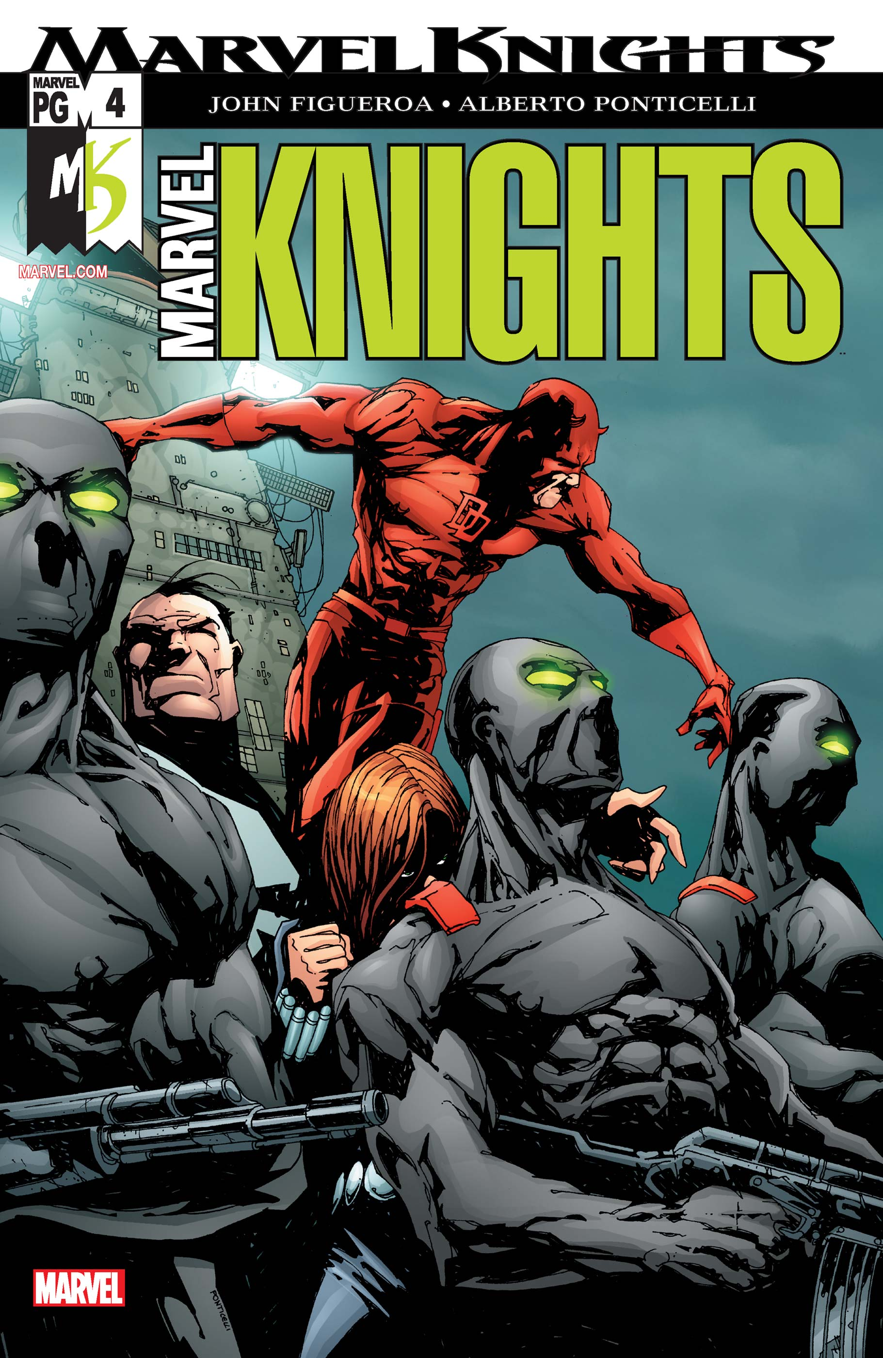 Marvel Knights (2002) #4