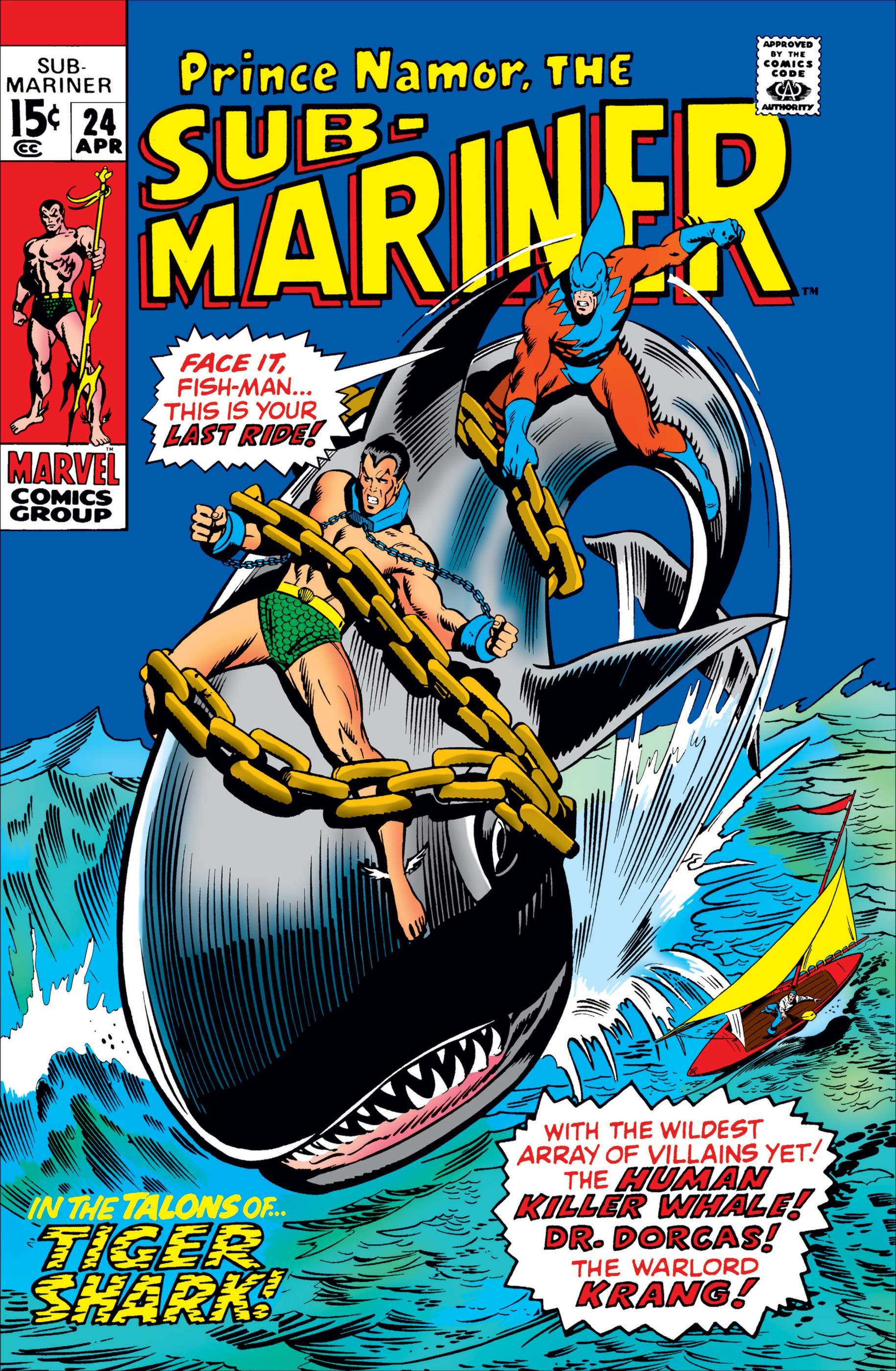 Sub-Mariner (1968) #24