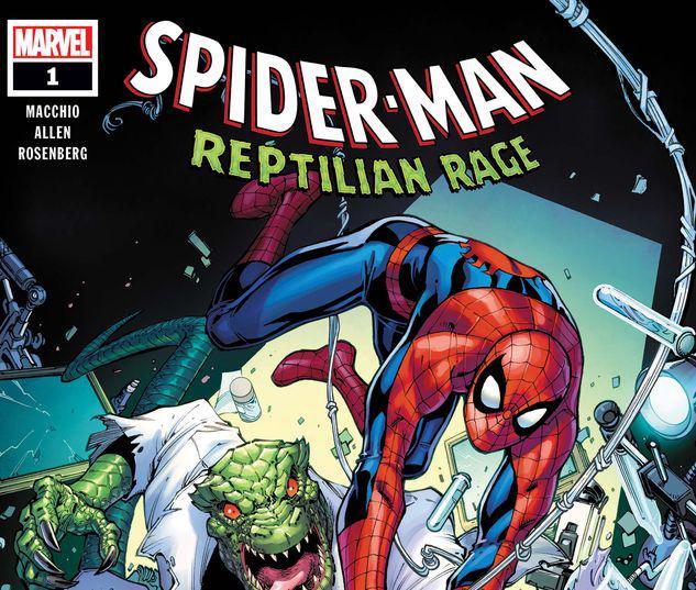SPIDER-MAN: REPTILIAN RAGE 1 #1