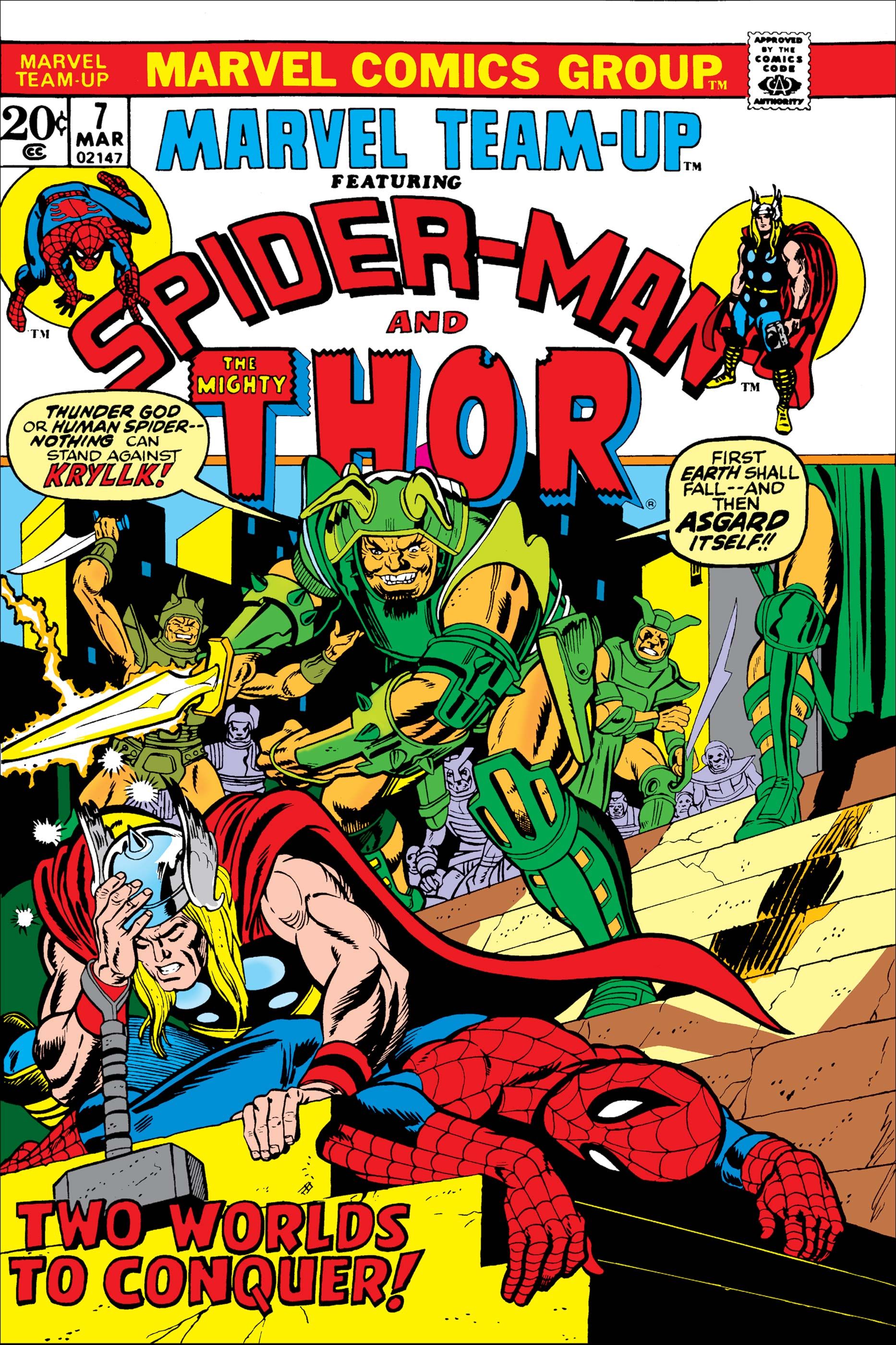 Marvel Team-Up (1972) #7
