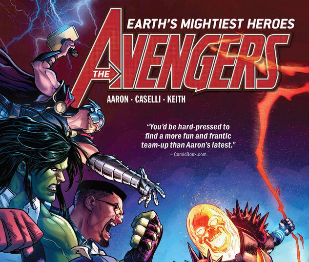 AVENGERS BY JASON AARON VOL. 5: CHALLENGE OF THE GHOST RIDERS TPB #5