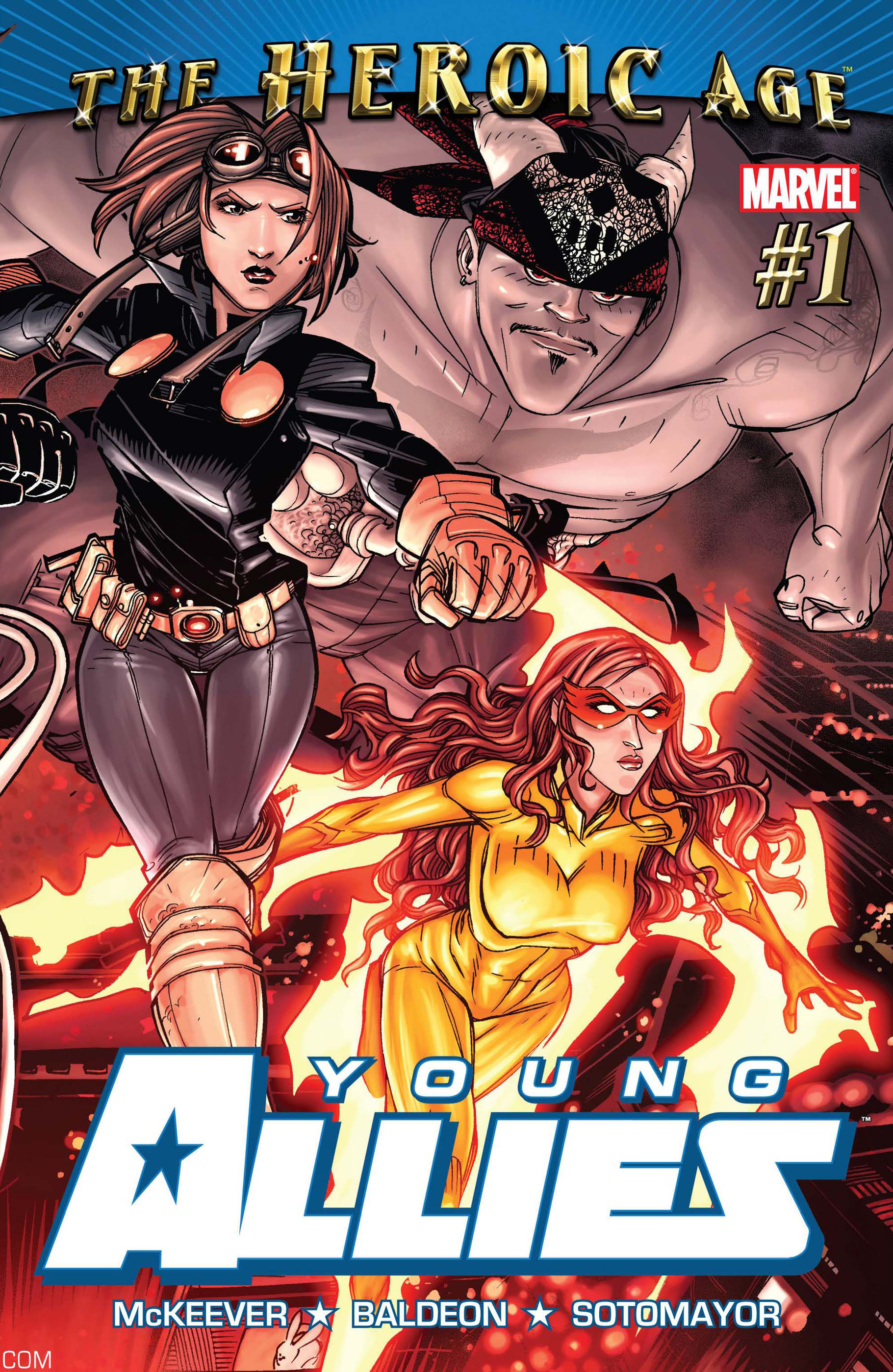 Young Allies (2010) #1