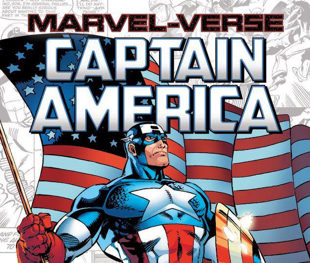 MARVEL-VERSE: CAPTAIN AMERICA GN-TPB #1