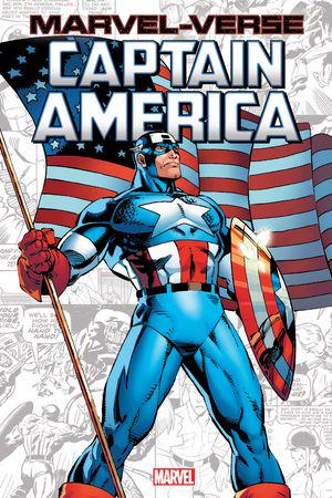 MARVEL-VERSE: CAPTAIN AMERICA GN-TPB (Trade Paperback)