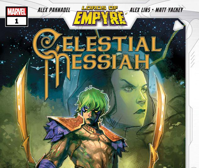 LORDS OF EMPYRE: CELESTIAL MESSIAH 1 #1