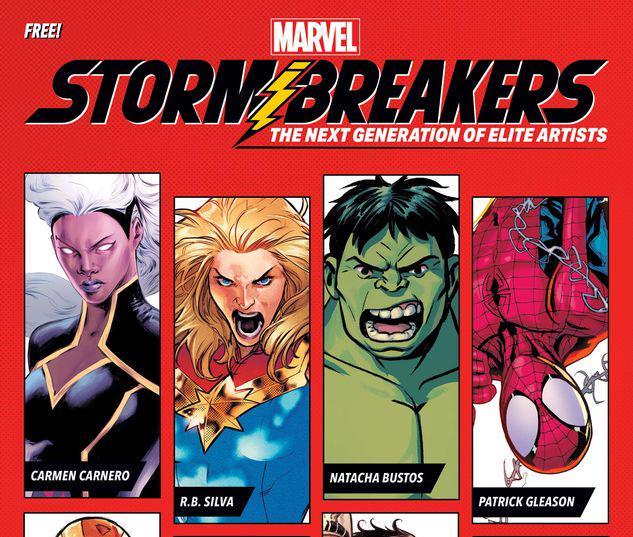 Stormbreakers Sketchbook #1