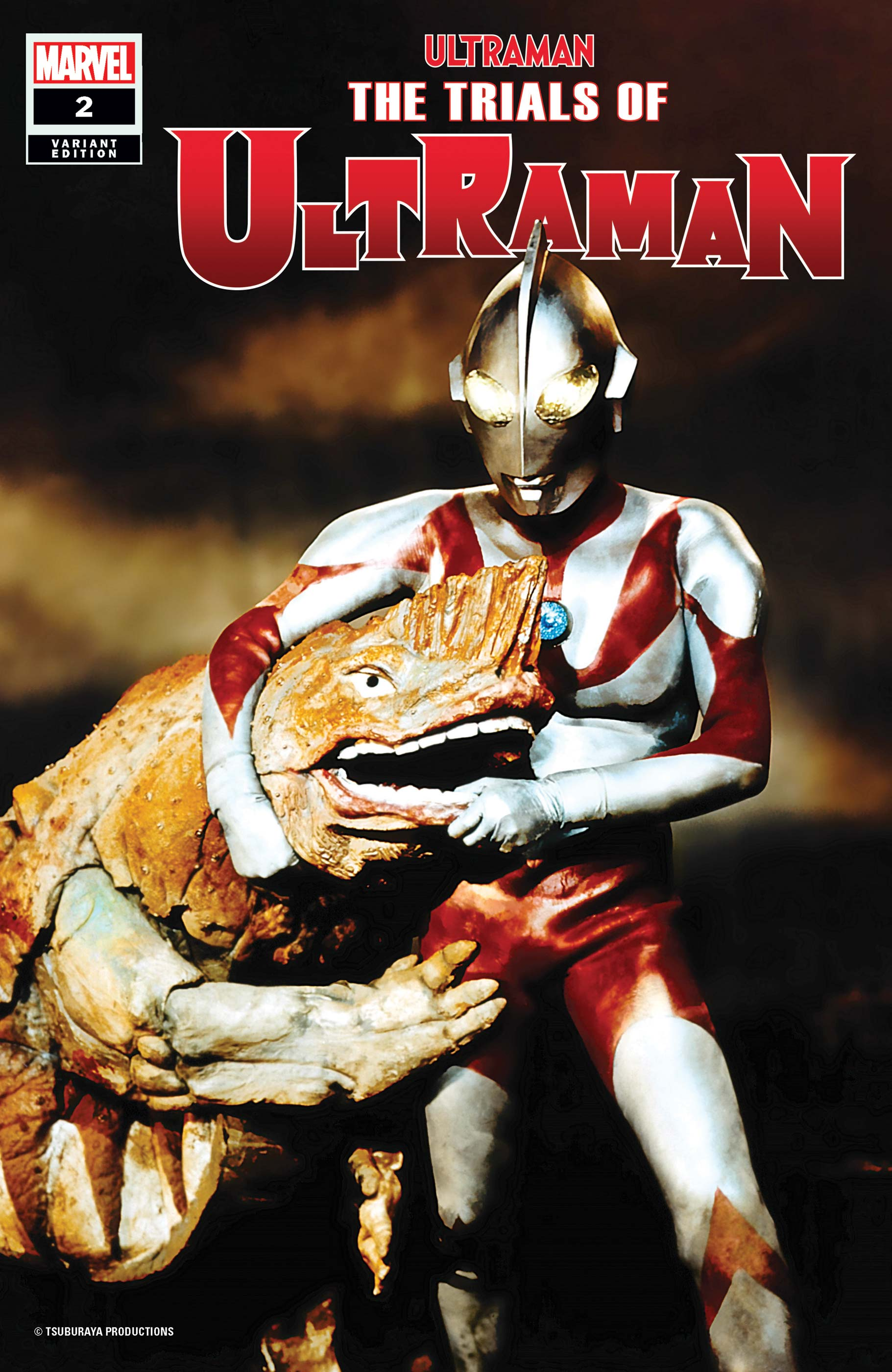 The Trials of Ultraman (2021) #2 (Variant)